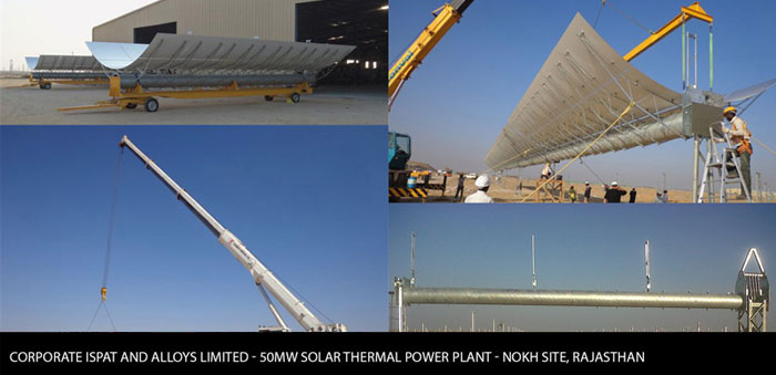 Gallery - Solar Thermal Power Plant